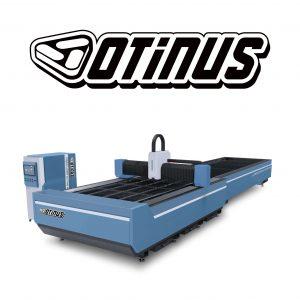 Wycinarki laserowe otwarte z wymiennym stołem CNC Otinus