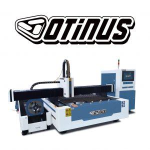 Wycinarki laserowe otwarte z obrotnicą CNC Otinus