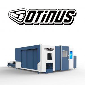 Wycinarki laserowe zamknięte z obrotnicą CNC Otinus